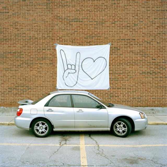 Girlfriend Material Cool Car cover artwork