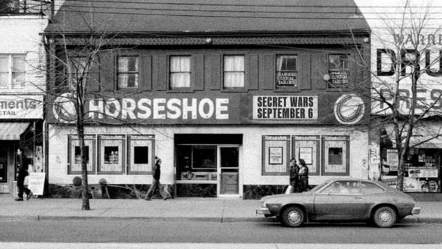 Secret Wars at the Horseshoe poster