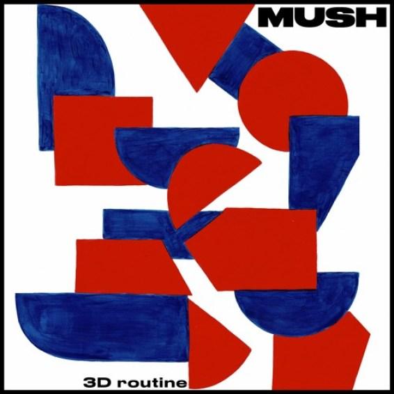 Mush 3-D Routine cover artwork