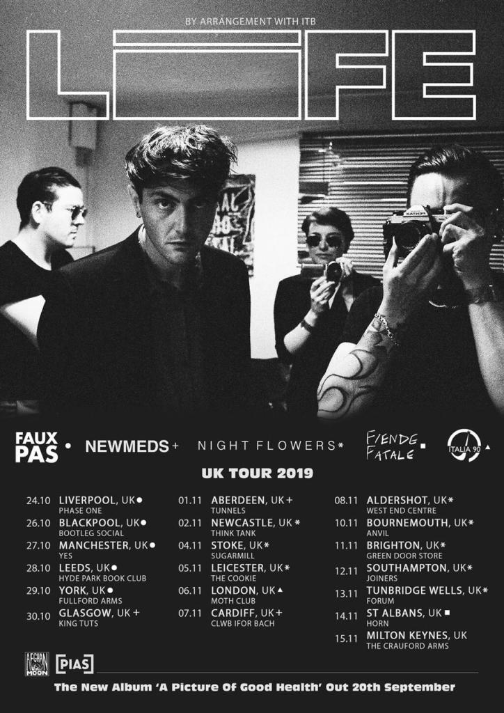 LIFE tour poster