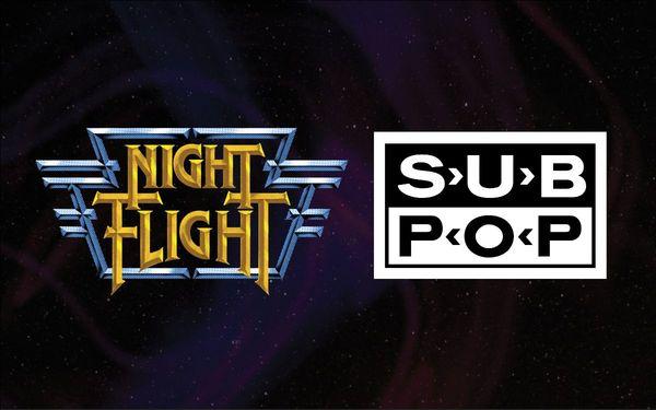 Night Flight Sub Pop partnership