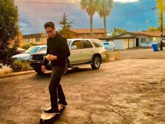 Fred Abington skateboard photo