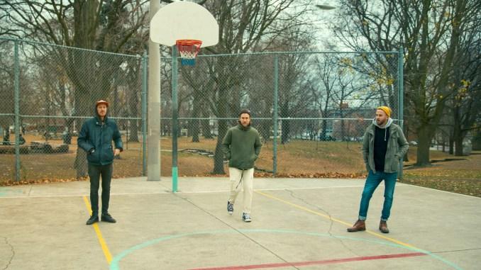 Tearjerker basketball court press photo