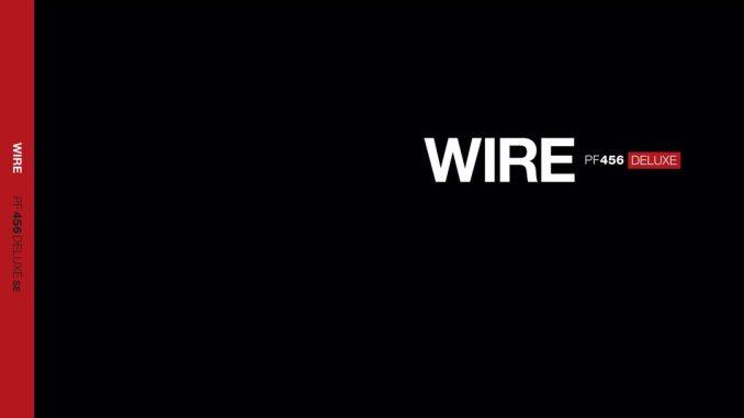 Wire PF456 DELUXE cover artwork
