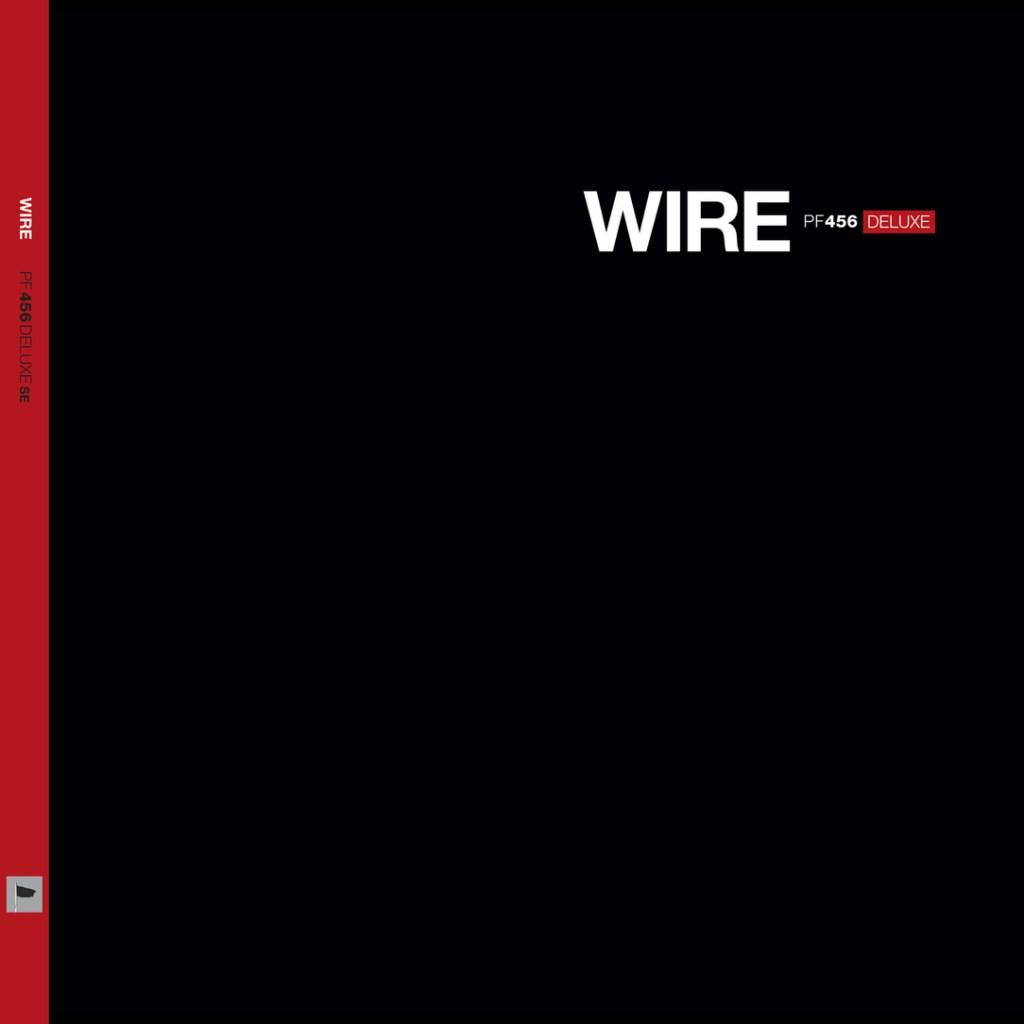Wire 'PF456 DELUXE' cover artwork