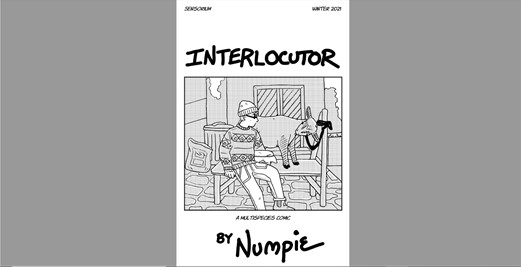 Cover page of zine