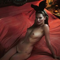 Kate Moss in Playboy and Lui Magazine