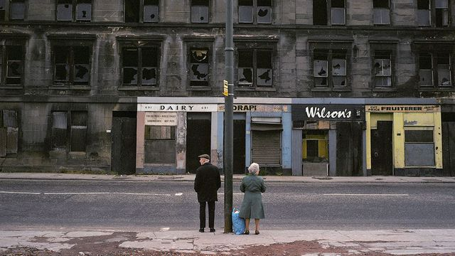 Raymond Depardon Glasgow, Écosse Magnum Photos