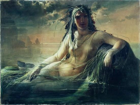 Elisabeth JERICHAU-BAUMANN, Une Sirène, 1873 © Ny Carlsberg Glyptotek, Copenhague