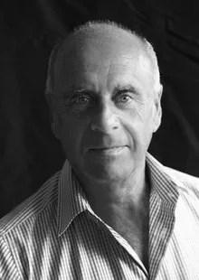 Portrait de Ralph Gibson © Photo par Andrea Blanche, 2012