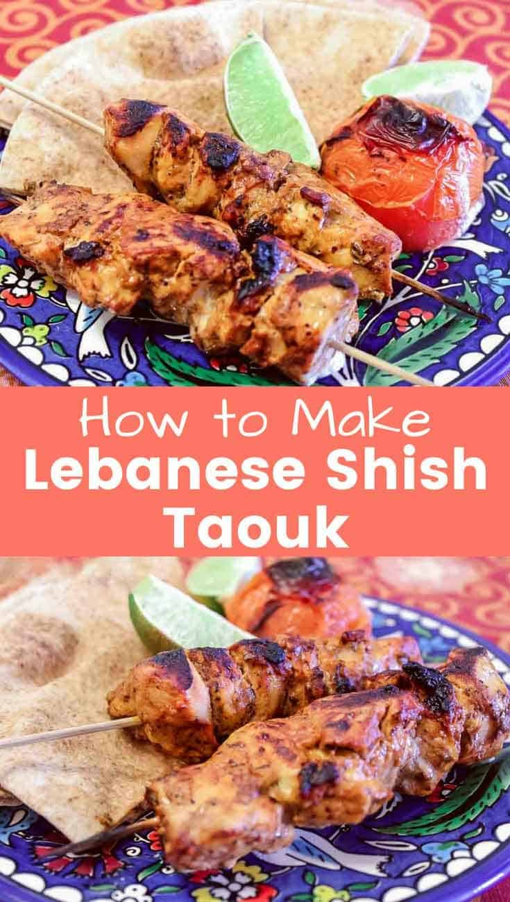 Now this is an amazing Lebanese Shish Taouk Recipe