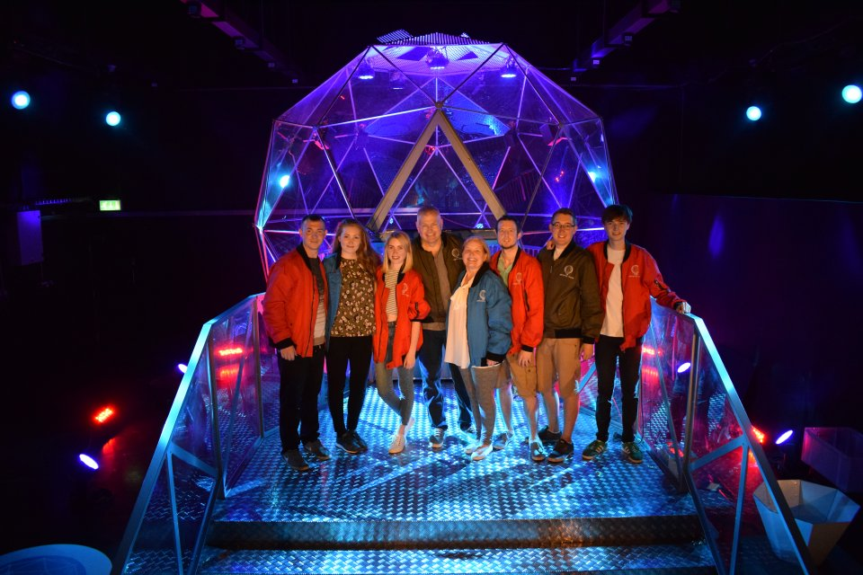 the crystal maze team