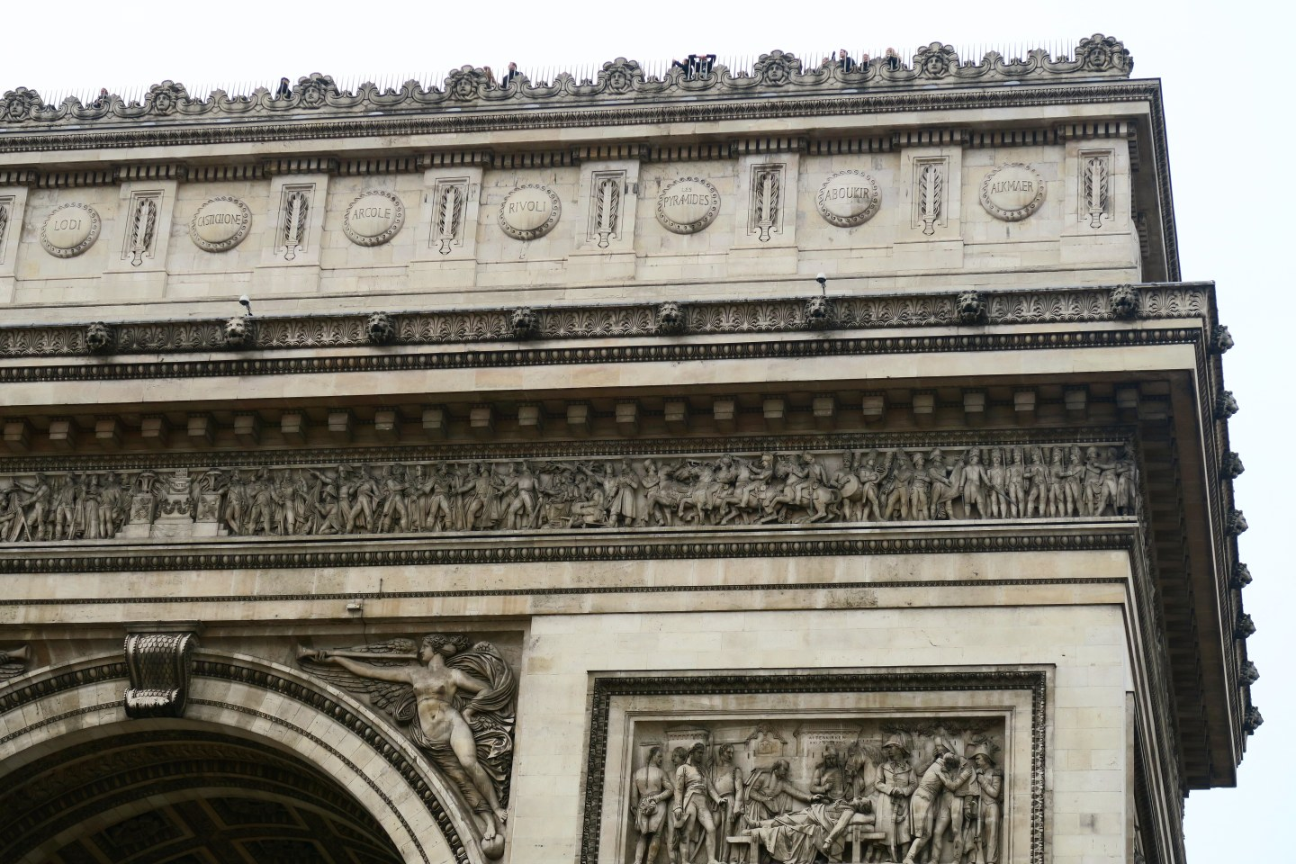 2 days in Paris - arc de triomphe