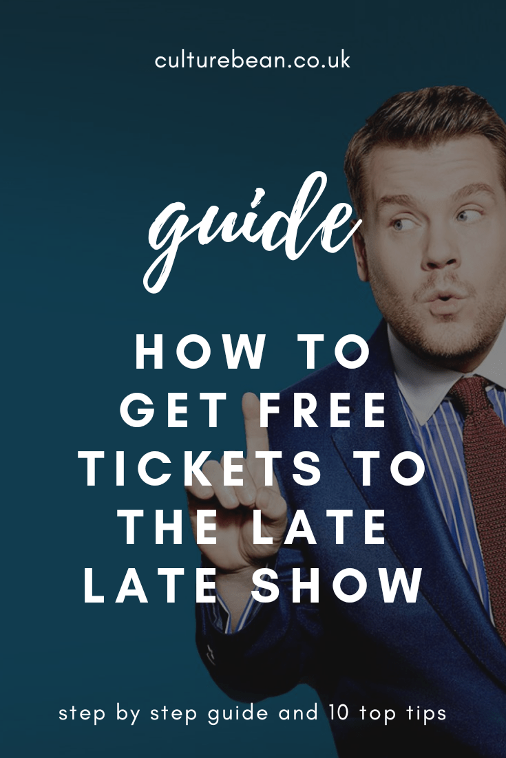 How to get Free tickets to The Late Late Show