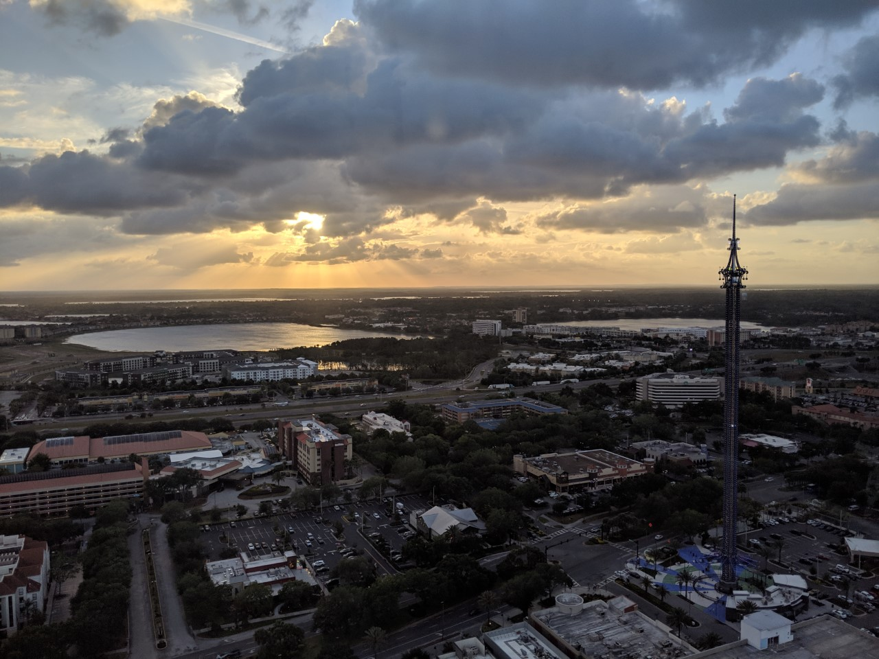 best things to do in orlando - icon wheel view