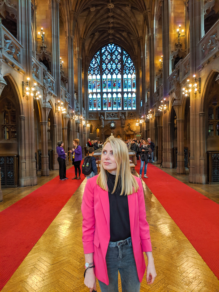 one day in manchester - inside john rylands