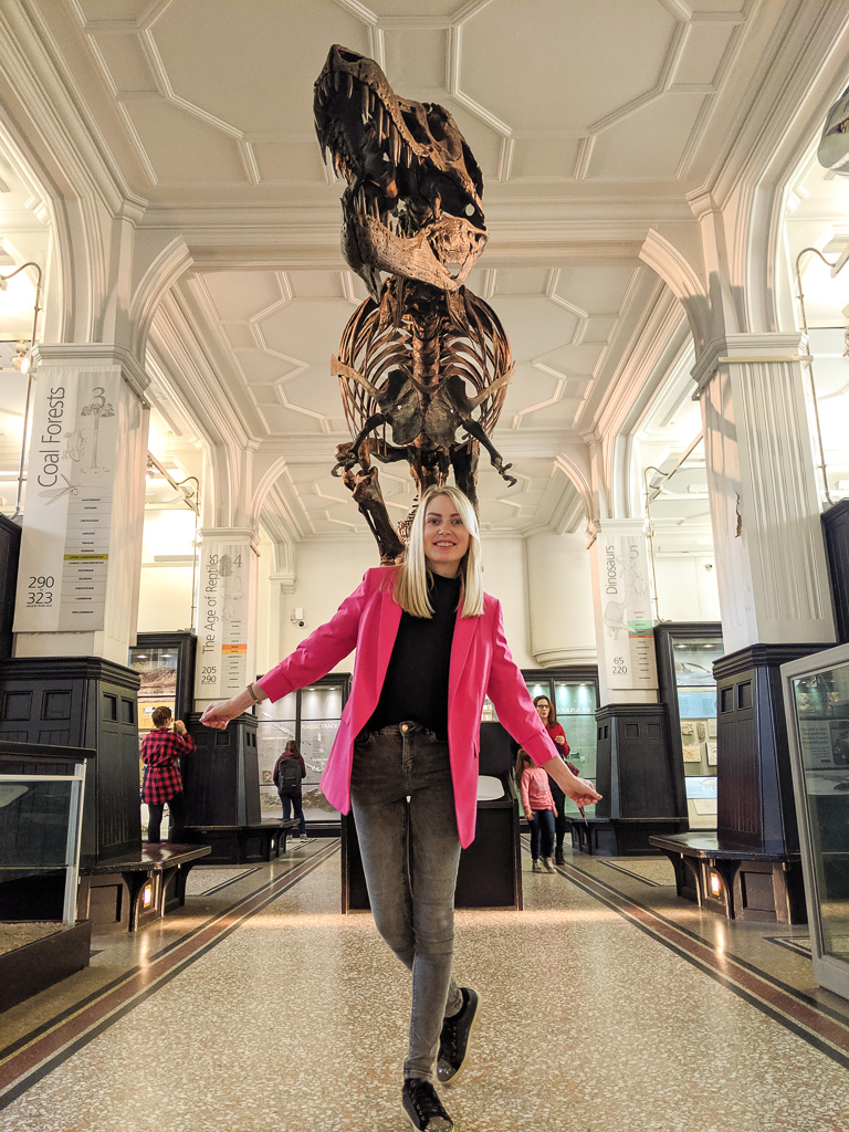 Spend one day in Manchester - Mcr Museum - Dino