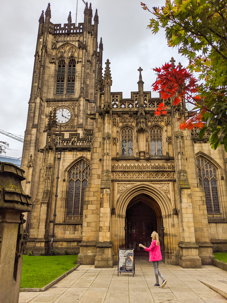one day in manchester -  cathedral