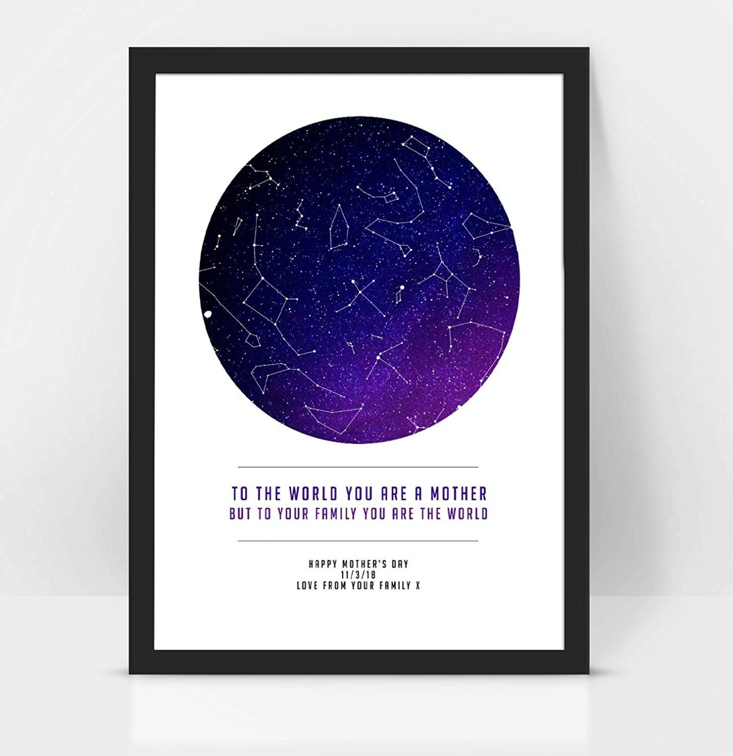 unusual mothers day gifts  - sky map