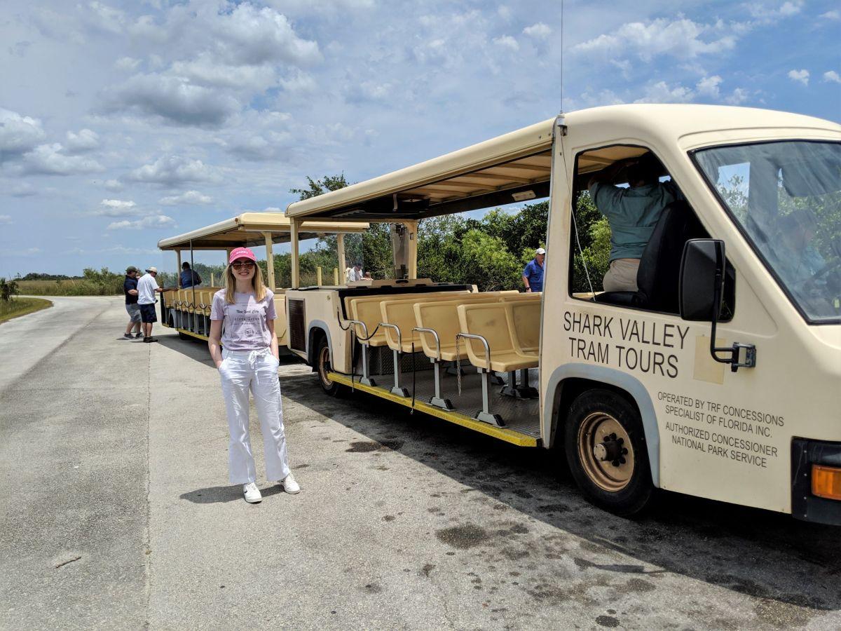 gude to the shark vallery everglades tram tour