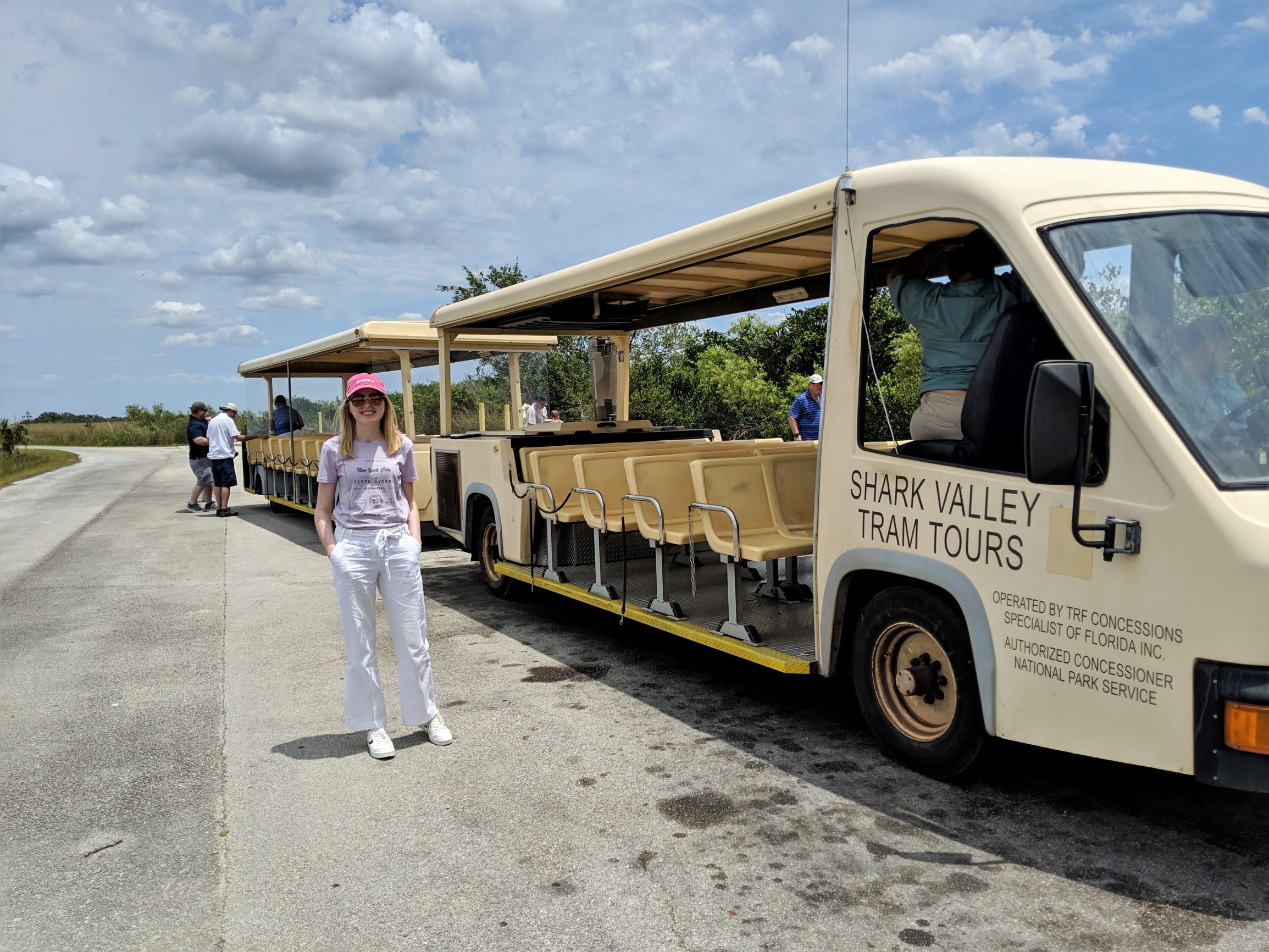 gude to the shark vallery everglades tram tour
