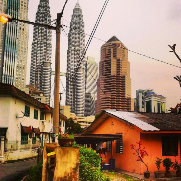 KL -A city of contrasts