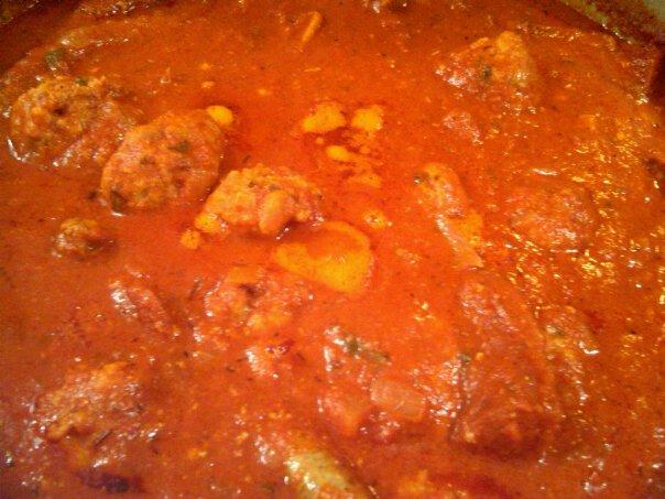 Italian GRAVY!  Not sauce.