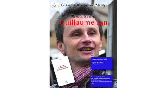 Rencontre littéraire avec Guillaume Jan