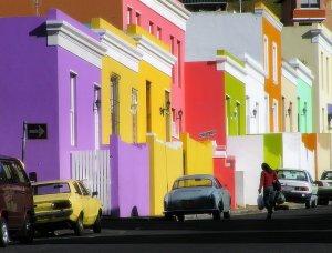 Bo kaap tour coloured houses,