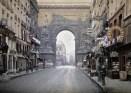 Today, Rue de Faubourg is home to many high end boutiques. Photo from Paris 1914: http://www.paris1914.com/2012/09/rue-du-faubourg-saint-denis-1914rue-du.html