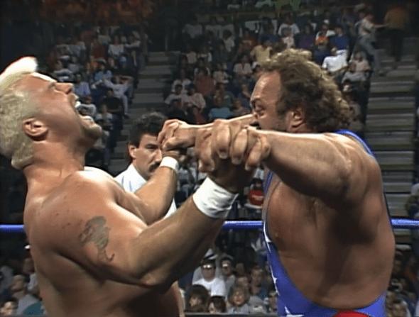 Image result for wcw halloween havoc 1991 Oz vs Bill Kazmaier