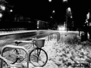 """This one 'Snowfall Aftermath' was taken in ""Coventry."
