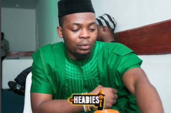 Olamide at the Headies 2015