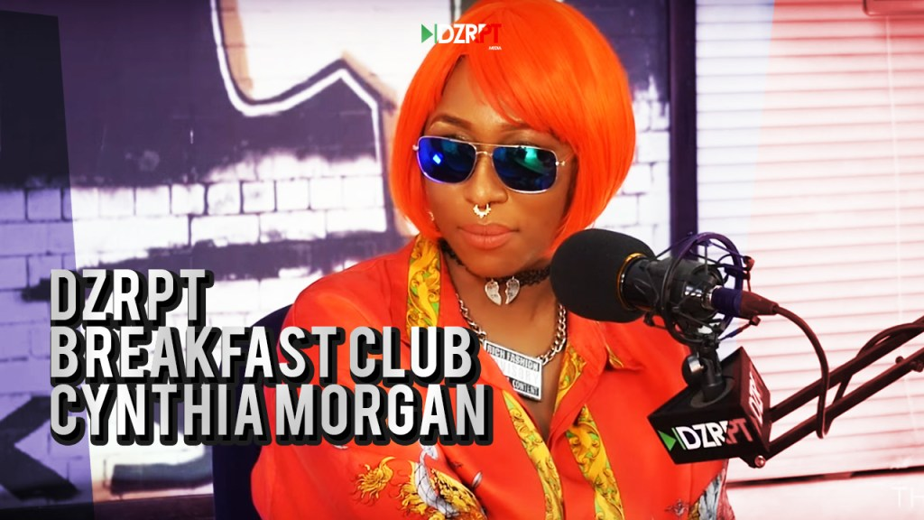 Cynthia Morgan on DZRPT Breakfast Club