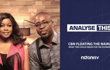 On Episode 5 of NdaniTV's Analyse This web series, Arese Ugwu and Tunji Andrews discuss the recent decision of the CBN to float the Naira and what this could mean for Nigeria's economy going forward.