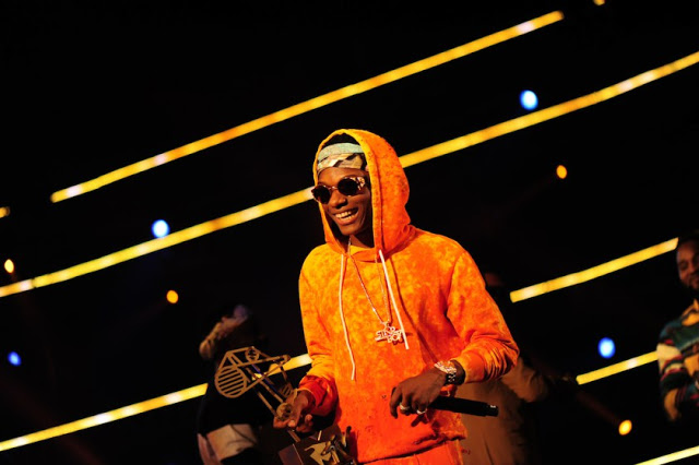 The artist Wizkid during the MAMA 2016, in Johannesburg, South Africa on October 22nd, 2016