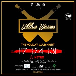 Ultra Waves: December 17th,24th and 31st @ Nitro