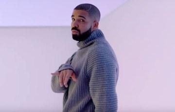 Drake in the Hotline Bling video