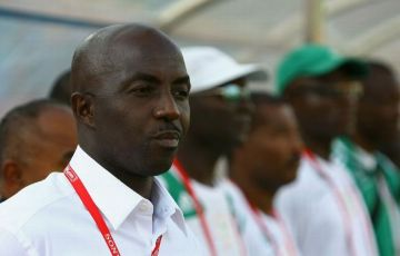 Former Super Eagles head coach, Samson Siasia has been named on an eight-man shortlist for the vacant Rwanda coach post.