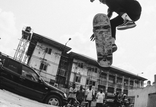 Red Bull photographer, Tyrone Bradley's pictures of Lagos and Africa's first skate crew, Wafflesncream