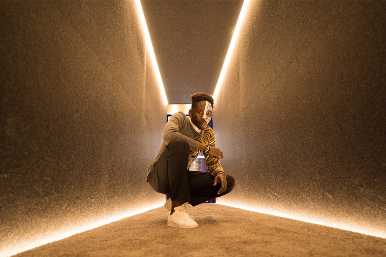 Mr Eazi for Highsnobiety, photo by Amarachi Nwosu