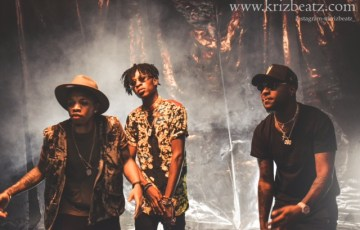 Listen to Krizbeatz Form A Connection with Tekno and Davido on Erima