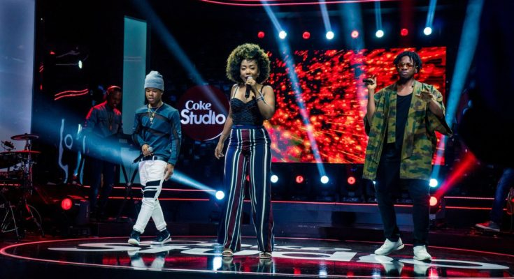 Nasty C and Runtown Reconnect on Coke Studio Africa's Said