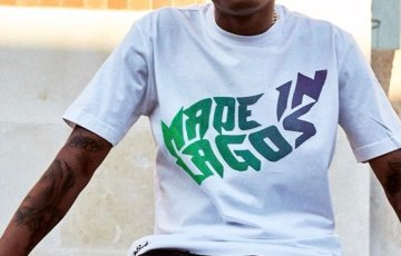Check Out Photos of Wizkid In The new STARBOY Merch