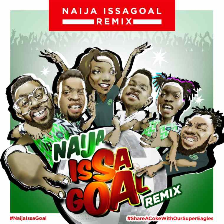 Coca Cola Unites Simi, Falz, Olamide, Simi, Lil Kesh, Slimcase and Naira Marley for NaijaIssaGoal