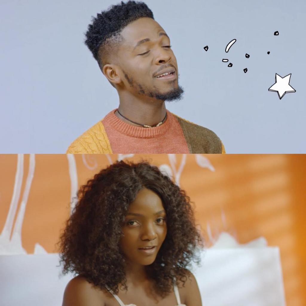Johnny Drille and Simi
