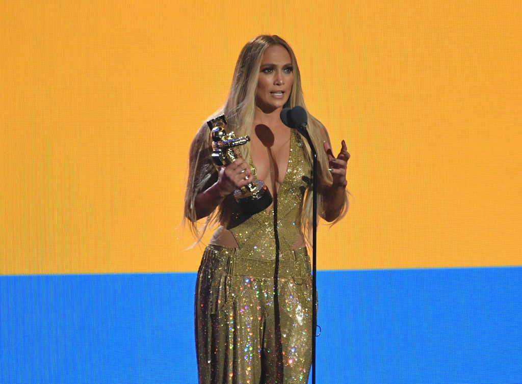 JLO at the 2018 MTV VMAs
