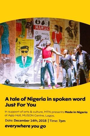 The MTN Made in Nigeria Poetry Show Returns to Lagos | The Culture
