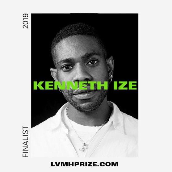 Kenneth Ize LVMH 2019