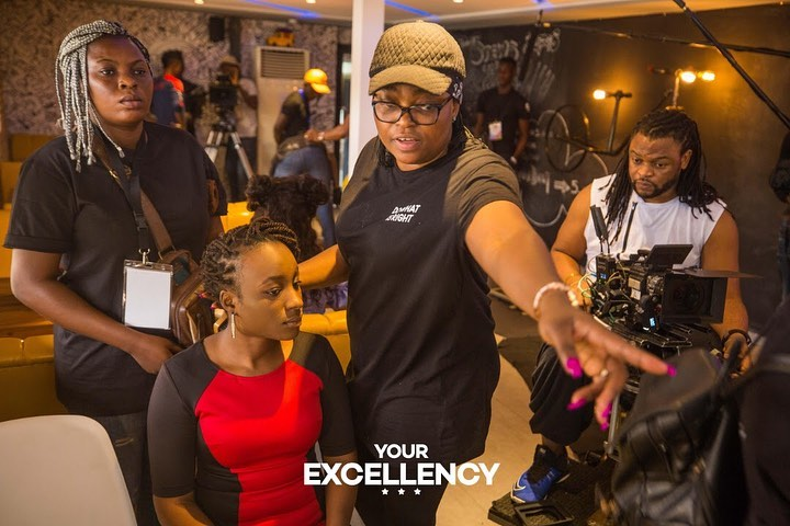 Funke Akindele makes directorial debut on Ebonylife's Your Excellency